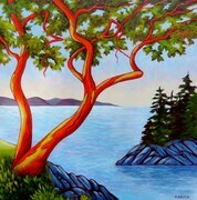 Arbutus Duet - Can be viewed at Central Gallery on Fort Street