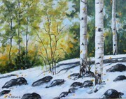 First Snow - SOLD