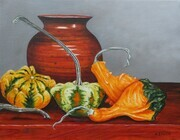 Gorgeous Gourds - sold