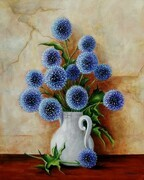 Globe Thistle - SOLD