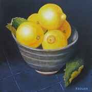 Lemons and Leaves - SOLD