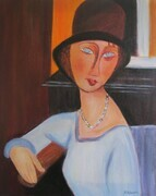 Modigliani Lady - SOLD