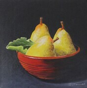 Nesting Pears - SOLD