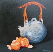 Tea and Oranges - SOLD